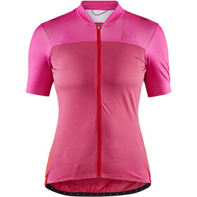 Craft Hale Glow SS Jersey Women, fame/bright red